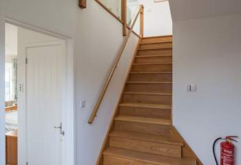 Large entrance hall which links nicely to all the ground floor rooms. Waiting for you up the stairs is the beautiful open plan living area.