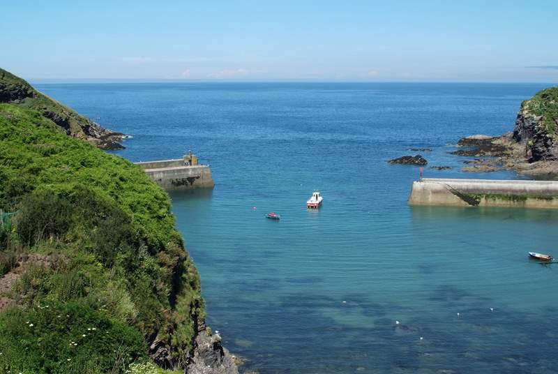 The harbour at Port Isaac is stunning.
