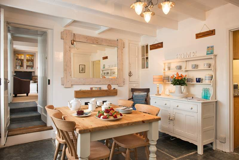 The cottage has been attractively styled throughout whilst maintaining the overall charm and character.