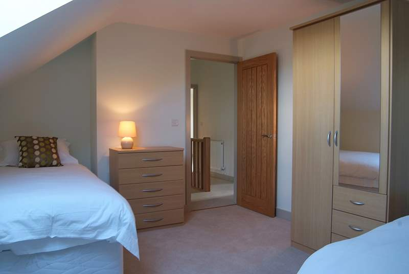 Bedroom 4 (available from 2020 onwards) has twin beds.