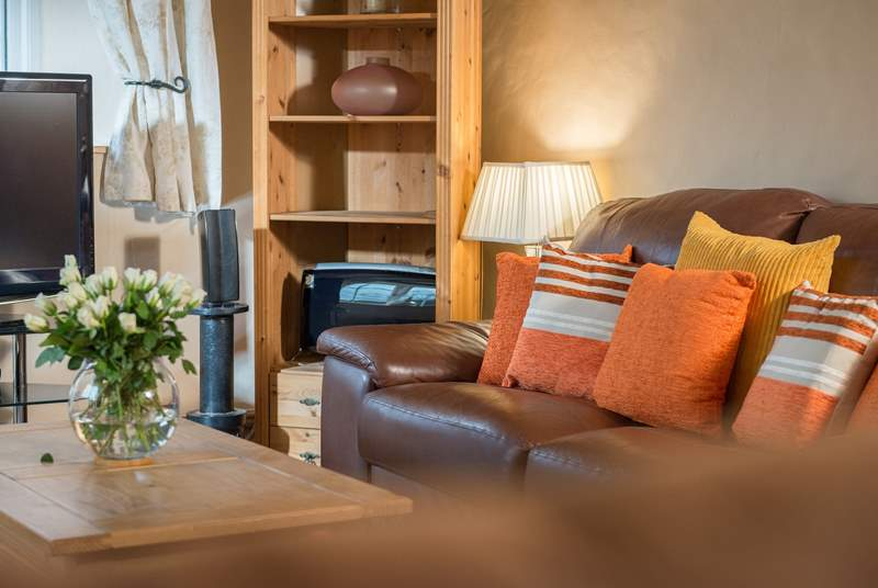 Comfy sofas to relax on whilst chatting about the wonderful adventures you've had so far.