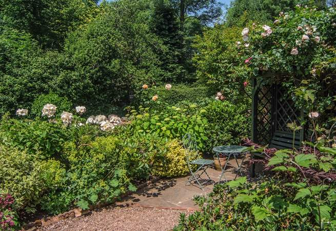 The cottage is cared for as deeply as the garden - just a delightful property which is beautifully looked after.