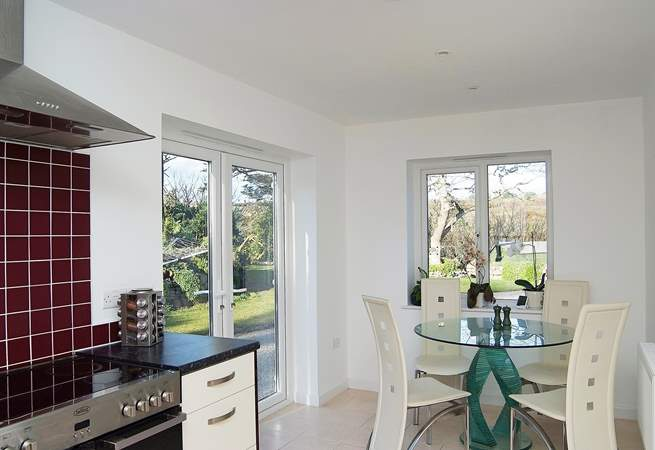 The perfect light and sunny spot for a leisurely breakfast!
