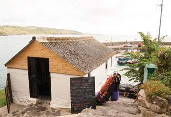 The windsurfing school where you can hire a kayak, paddleboard/SUP or take a windsurfing lesson.