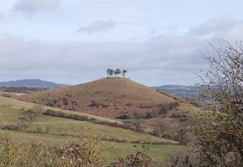 This is another local landmark - just on the outskirts of Bridport. Walk to the top and have a 360 degree view.