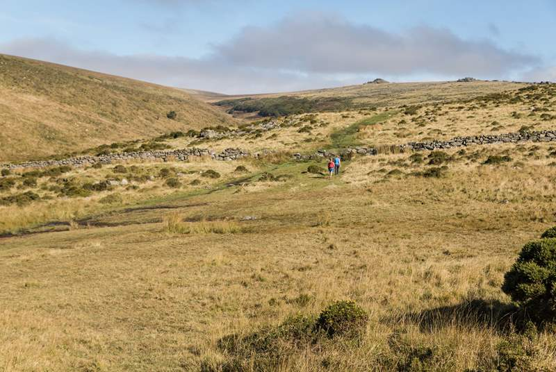 Don't forget to pack the walking boots with Dartmoor on the doorstep.