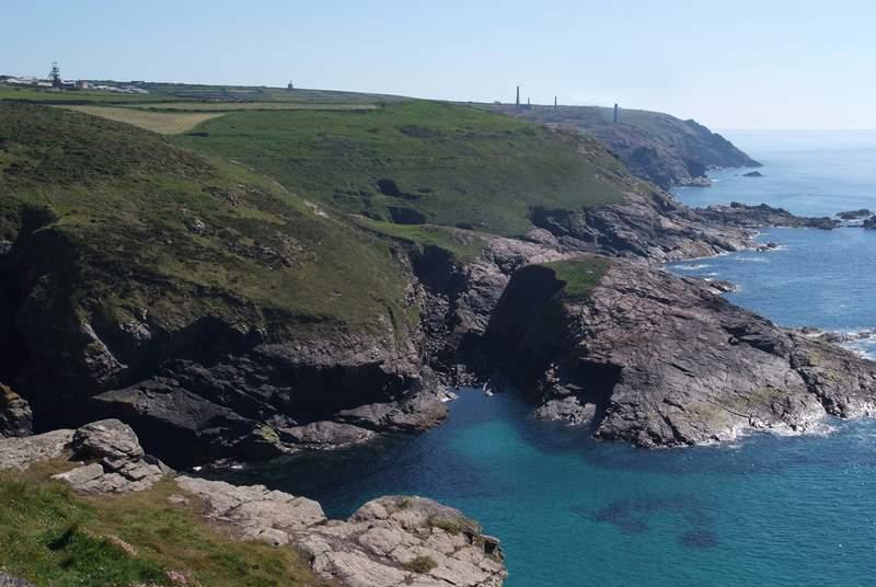 The coastline nearby.