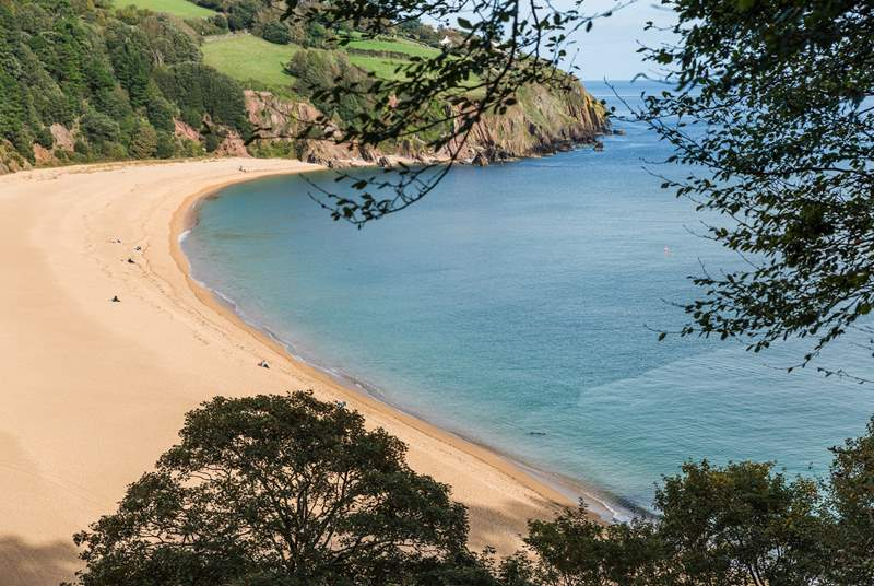 There are some great beaches and coves to explore in the South Hams, not least Blackpool Sands - one of Devon's loveliest beaches - which is just a short drive.