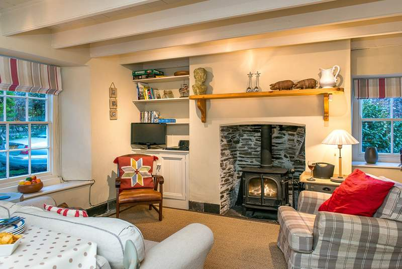 Lowen Cottage is full of character and delightfully furnished throughout.