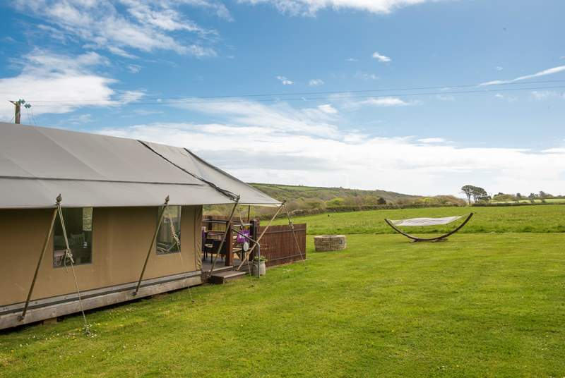 A fantastic setting for a truly memorable glamping holiday.