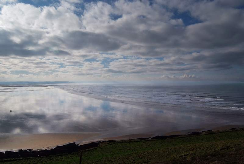 North Devon has spectacular sandy beaches and is a great destination for surfers, families and breaks all year round.