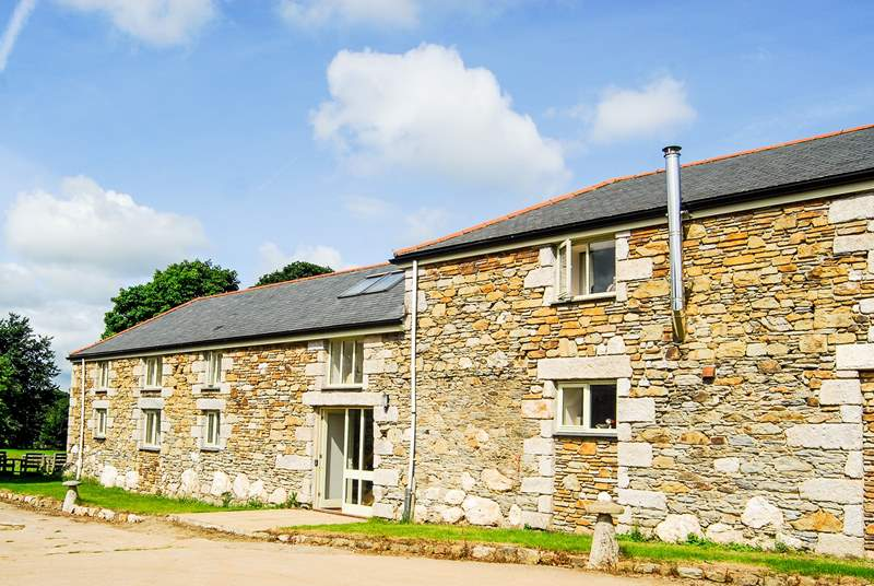 Dowstall Barn is a very large property with plenty of space for everyone to spread out and relax.