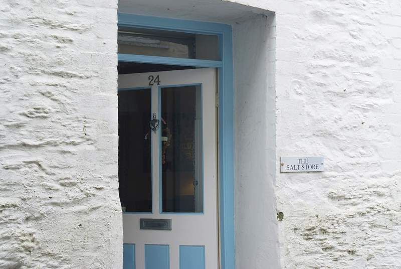 The front door at The Salt Store.