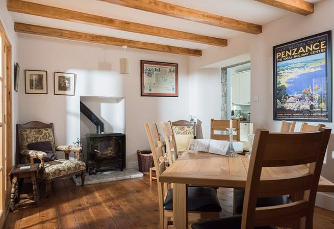 Home-from-home cosy comforts and a great mix of both traditional and modern furniture.