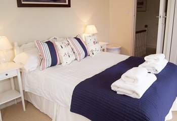 Bedroom 3 is equipped with a 4'6'' double bed.