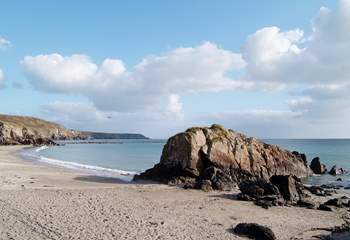Kennack Sands is a lovely family-friendly beach.