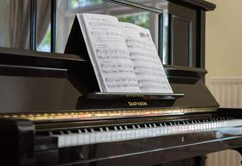 There's even a piano in the dining-room if anyone fancies a sing along!