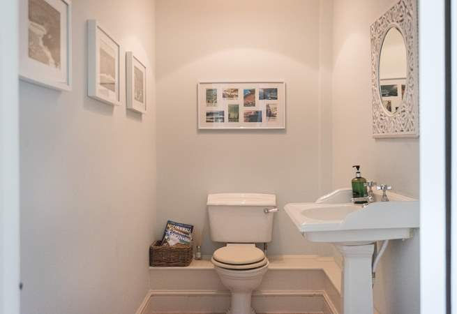 Even the smallest room in the house is beautifully presented.