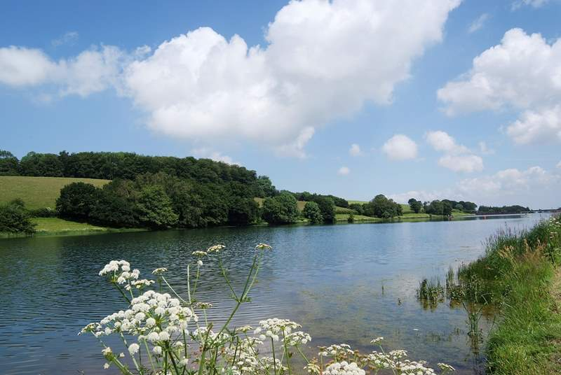 This is the Headford Reservoir - a lovely walk along country lanes from the cottage.