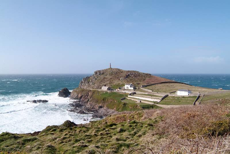 Cape Cornwall is just one mile away.