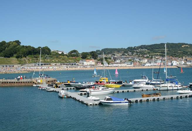 Lyme Regis is a fabulous place to visit, so much to see and do all year round.