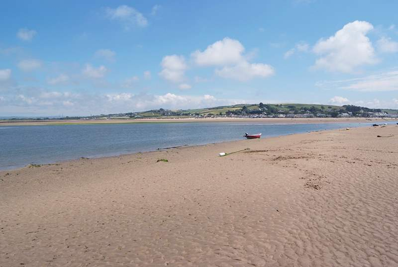 Lovely Appledore and Instow - facing each other across the Torridge Estuary are nearby.