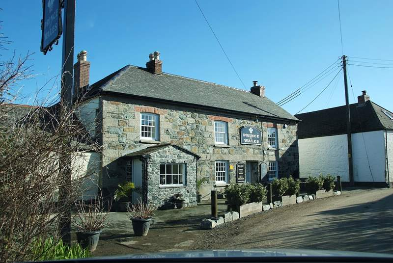 The Prince of Wales pub, Newtown in St Martin is less than two miles away or five minutes by car.