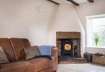 Sit by the wood-burner with a good book, or just to chat about the wonderful places you have explored today.