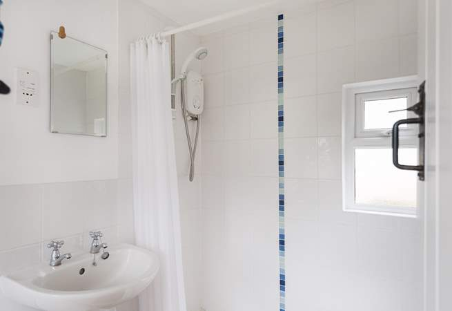 The large shower.