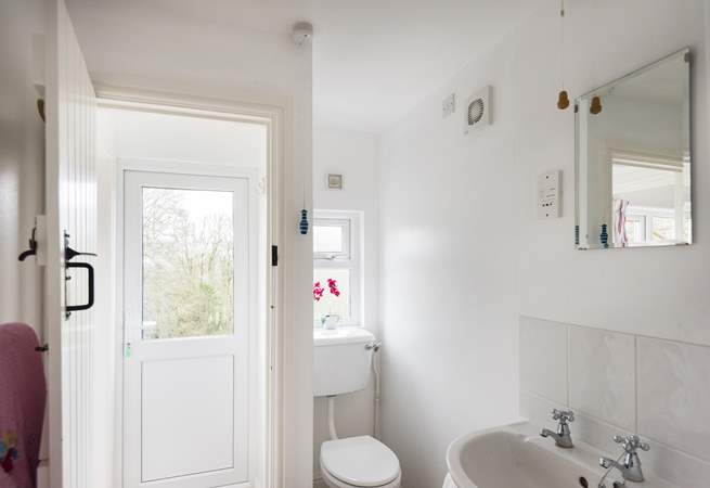 The shower-room can be found just off the kitchen on the ground floor.