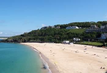 The lovely Porthminster beach.