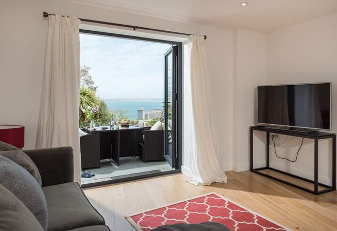 You have sea views from every room.