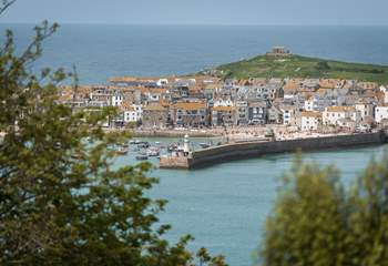 St Ives is so close.