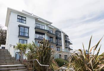 The stunning building sits in one of the most sought after locations in St Ives.
