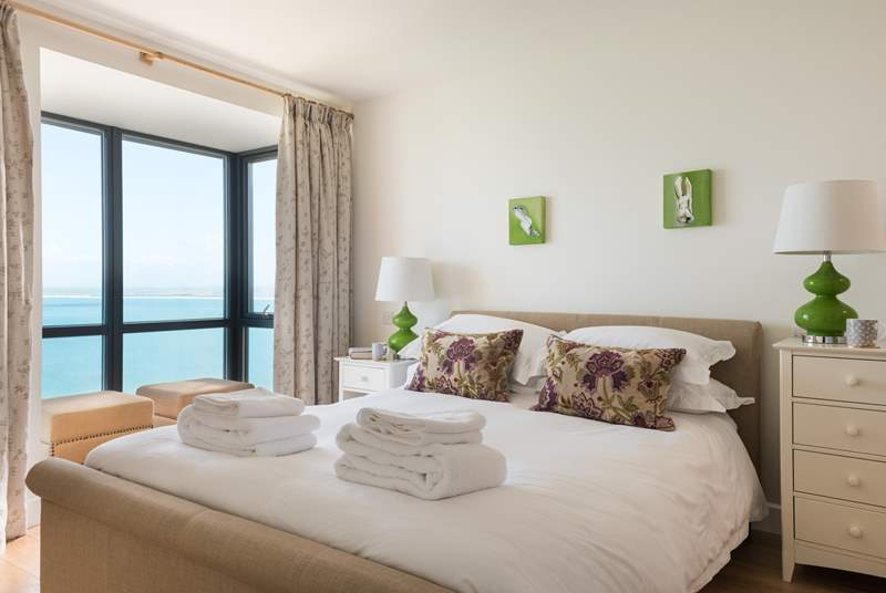 Wake up to the sound of the Cornish sea.