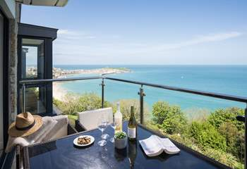 Simply the most perfect spot for a glass of wine.