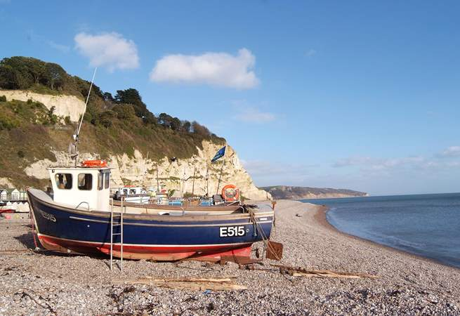 Beer is one of the pretty fishing villages or seaside towns to visit along the east Devon coast.