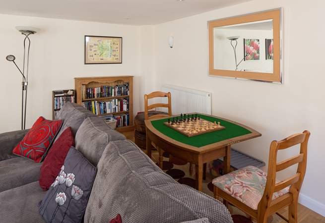 There are toys and games for all ages - as well as a separate games-room!