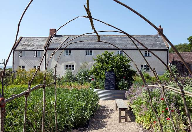 River Cottage HQ is on the border between Devon and Dorset, book for a special meal or enrol for a cookery class.