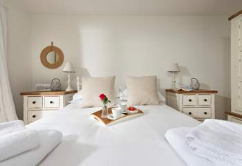 Why not treat yourself to breakfast in bed- after all you are on holiday.