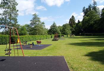 Children will love the park just across the road - do supervise them crossing though.