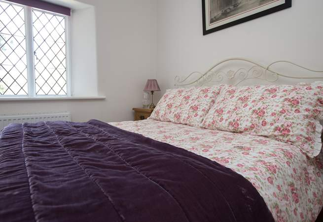 A cosy and snug room to curl up in after all that fresh air.