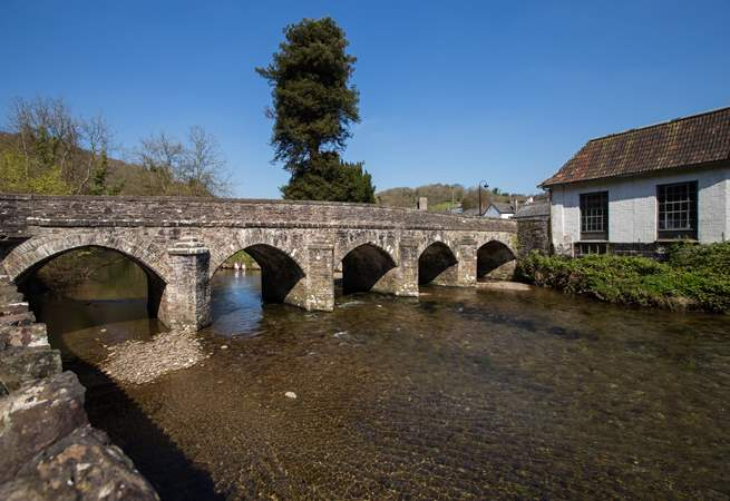 This is the bridge that you will cross into the town for all the lovely local shops, cafes and pubs.