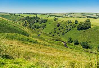 Exmoor offers miles of open space, stunning walking, deep valleys and tumbling rivers.