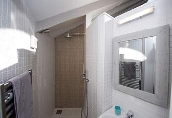 There is an en suite shower-room just off of the main bedroom area.