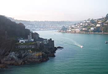 There are so many lovely places to visit along the beautiful River Dart, including the infamous naval town of Dartmouth and its castle.