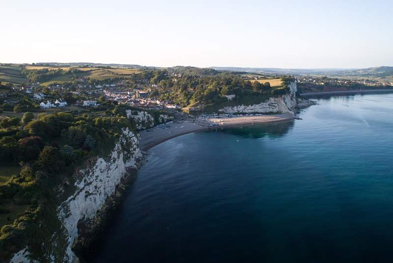 The East Devon Jurassic Coastline is stunning.  This is the fishing village of Beer - like stepping back in time with the fishing boats pulled up on the beach.