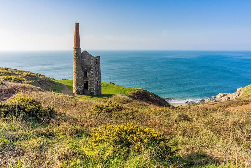 Rinsey head, a fantastic coastal walk.