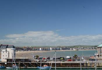 Weymouth harbour and beach is a short drive away.