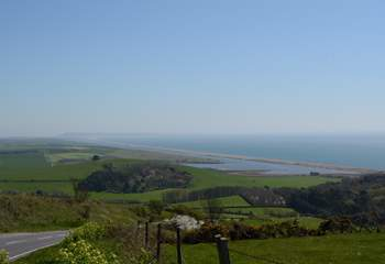 Drive the Jurassic Coast road between Bridport and Weymouth, for stunning views in both directions.
